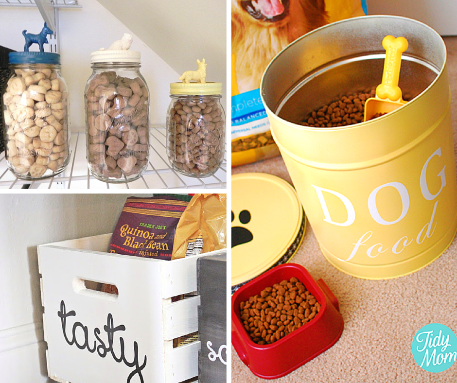 28 Creative Dog Food Storage Ideas